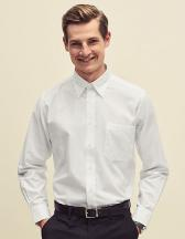 Men`s Long Sleeve Oxford Shirt